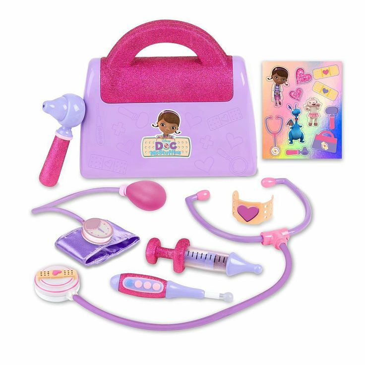 Doc McStuffins Doctor's Bag | Includes Doc's bag, play ...