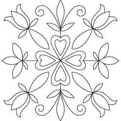 rosemaling stained glass pattern - Google Search