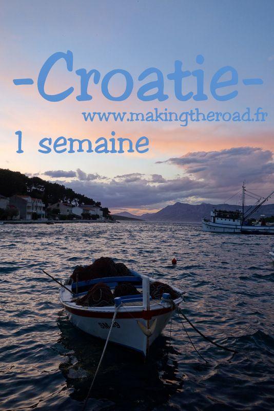 Ile de #Brac - #Voyage en road trip en #Croatie - 1 semaine depuis Zadar - itinéraire avec des idées de randonnées et de plages - bons plans photos et conseils d'hôtels pour petit budget - Ile de brac - plitvice - Split