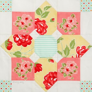 Quiltmaker 100 blocks tourby Moda... the Cutting Table.