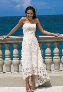PANTALON DE MANTA CON GUAYABERA PARA BODA | Vestido de novia hasta las pantorrilas. El escote strapless y el torso ...