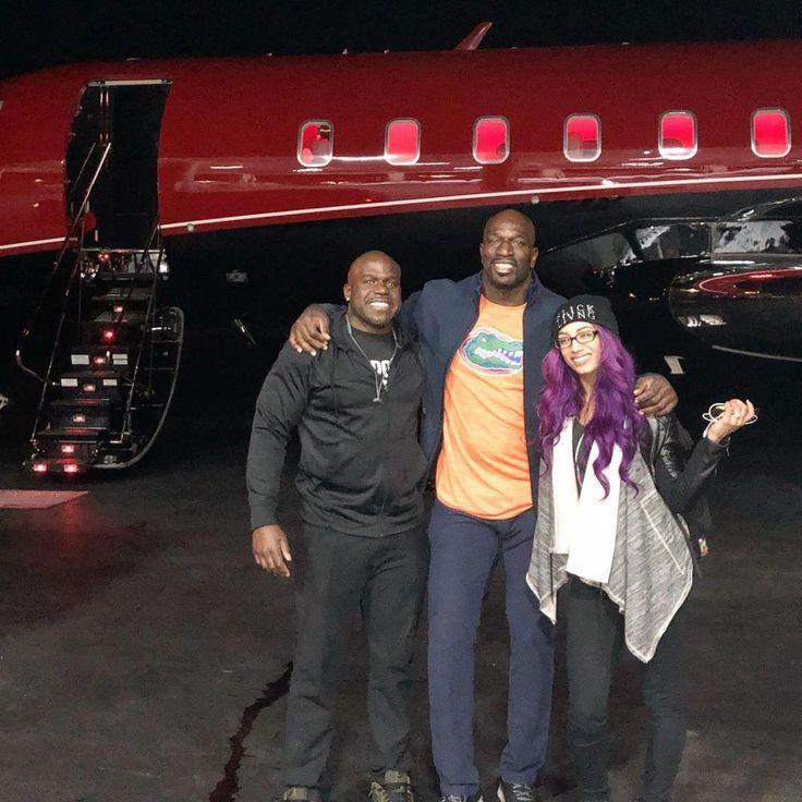 WWE Superstars and Sasha