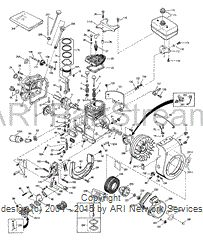Tecumseh H35-45132M Exploded View Parts Lookup by Model