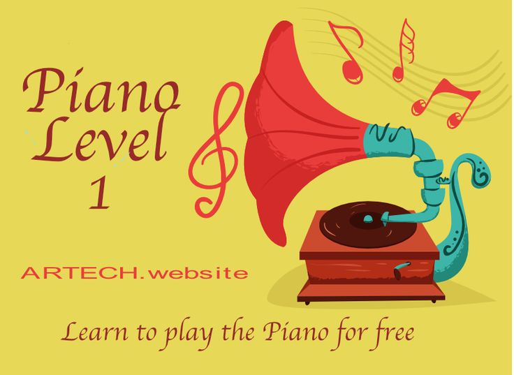 Free Piano Course for Beginners: Level 1  This course includes several easy and well known pieces for the Piano. These are Piano Pieces for Level 1 or Beginner level. The pieces in the book are famous classical pieces, popular music from several countries and pieces by the author.  We start with a small introduction to the piano. The student will learn where the notes are on the piano and how they are written in the treble clef and in the bass clef. It also introduces the student to the…