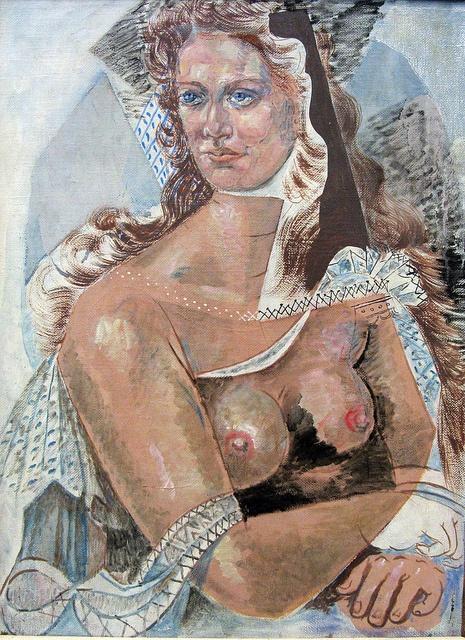 """""""White Figure"""" (1970) - Hatzikyriakos-Ghikas Nikos by Tilemahos_E, via Flickr"""
