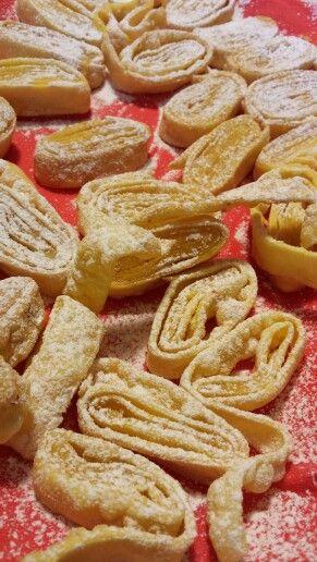 #tagliatelle fritte dolci di #carnevale