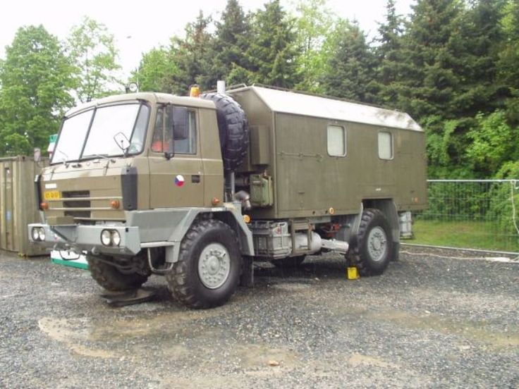 czechoslovakian tatra 815 4x4  by building a family of related trucks  the czechoslovakian