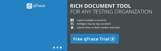 Rich document tool - qTrace: -Captures screenshots and user's action. -Provides support for exploratory testing. -Generates documentation with step-by-step narration and screenshots. -Submits tickets directly to defect tracking systems. -Affordable at $49 per license.