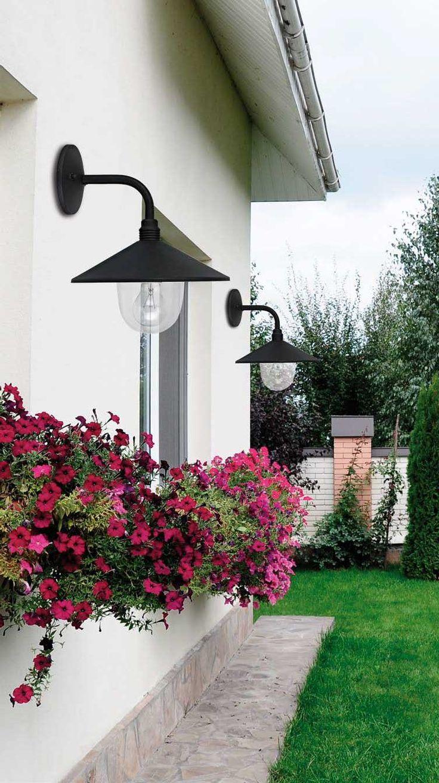 Απλίκα - φωτιστικό τοίχου, σε vintage στυλ, στεγανό, κατασκευασμένο από αλουμίνιο σε μαύρο χρώμα, με σκιάδιο απο γυαλί. Κατάλληλο για τοποθέτηση σε εξωτερικό χώρο, αυλές, κήπους κ.α. Pilos Collection της Viokef. ------------------------------- Wall lamp, vintage style, waterproof, made of aluminum in black color, with glass shade. Suitable for outdoor installation, courtyards, gardens, etc. #exterior  #courtyard #exteriordesign #houseplan #housegoals #housegoals #garden #gardendesign…