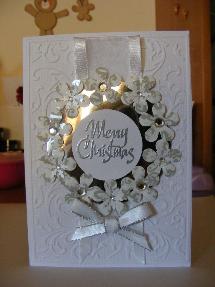 Christmas card using kaszazz