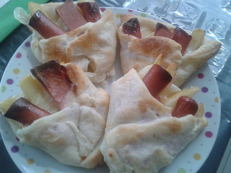 Fazzoletti Patate E Wrustel - www.cucinandomania.it