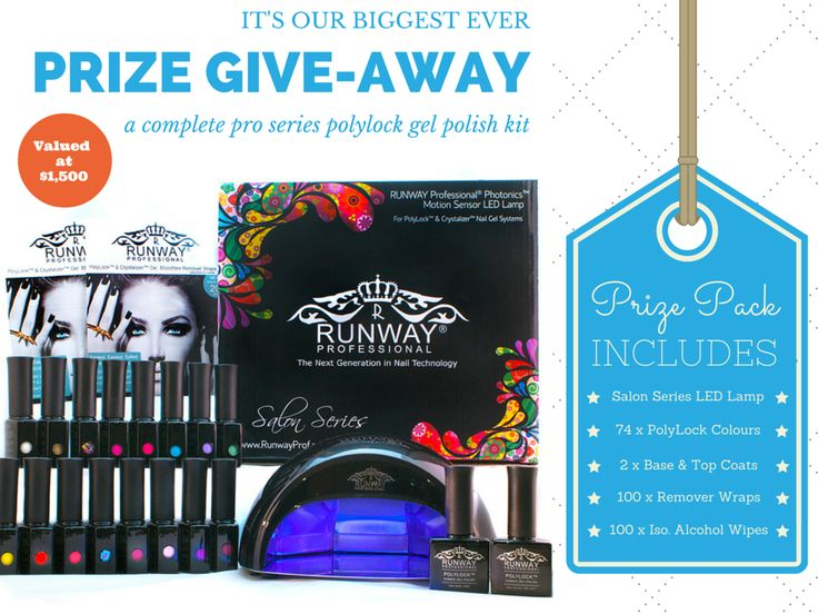 Don't miss your chance to win a $1,500 PolyLock Gel Polish Kit! I've just entered & I think you should too!