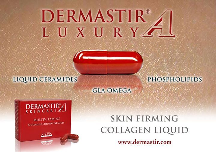 Dermastir Skincare Multivitamin Collagen liquid capsules provides a nutrient synergy of GLA Omega 6 and antioxidants to help the skin fight against ageing and external aggression.  For more info please visit www.altacare.com