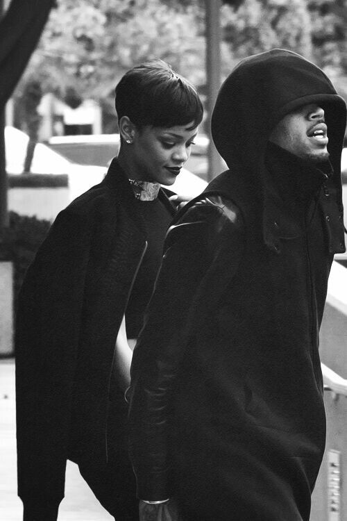 Chris Brown and Rihanna kind of love
