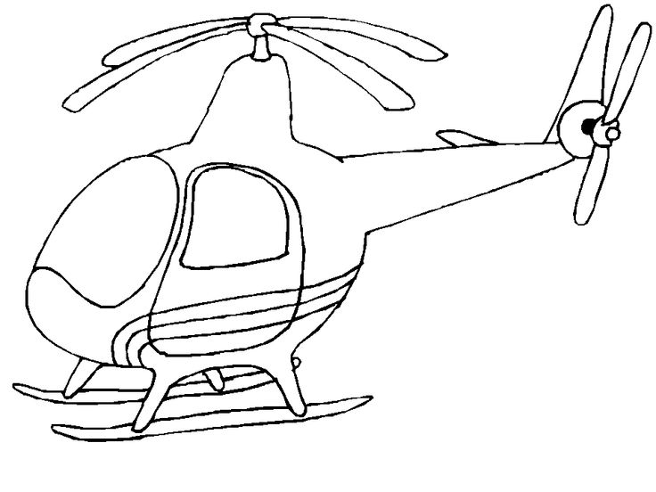 Coloring Pages Download Helicopter Fresh On Model