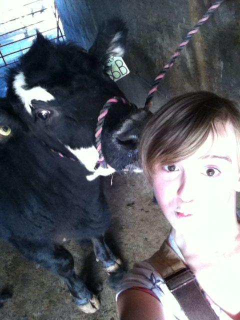 Me and my heifer