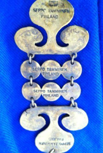 Modernist Bronze Pendant with Chain by Designer Seppo Tamminen Finland 1960'S   eBay