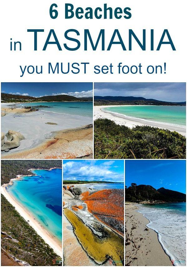 6 of the BEST beach in Tasmania, Australia