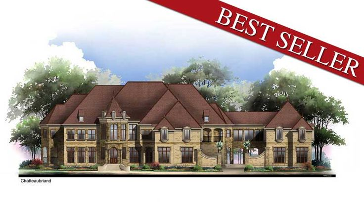 Chateaubriand House Plan: Dreams Houses, Half Bath, Houseplans, Houseplan Chateaubriand, 7618, Chateaubriand Houses, Houses Plans, Houses Design, House Plans