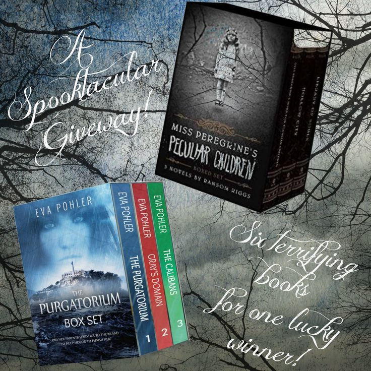 A Spooktacular #RansomRiggs and #EvaPohler #Giveaway!