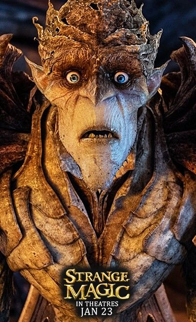 The Bog King from Strange Magic - In Theatres January 23rd