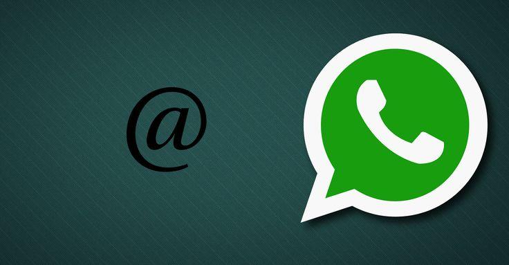 Popüler anlık mesajlaşma uygulaması WhatsApp'a çok yakında etiketleme özelliği geliyor