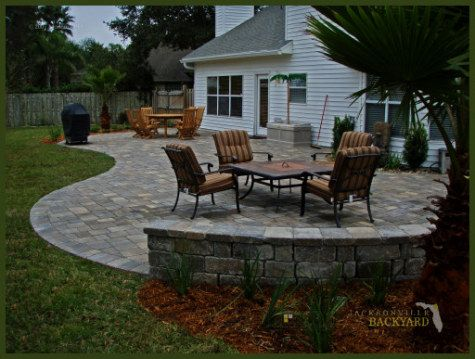 12 best free form patio designs images on pinterest | patio design ... - Patio Shape Ideas