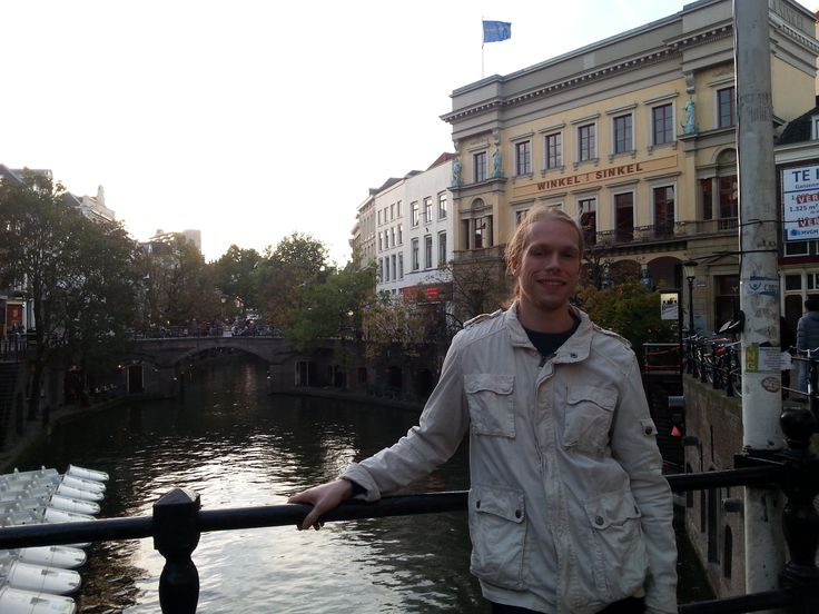 Andy by the canal