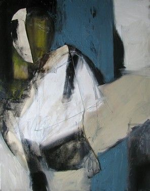 abstract painting by Fred Smilde
