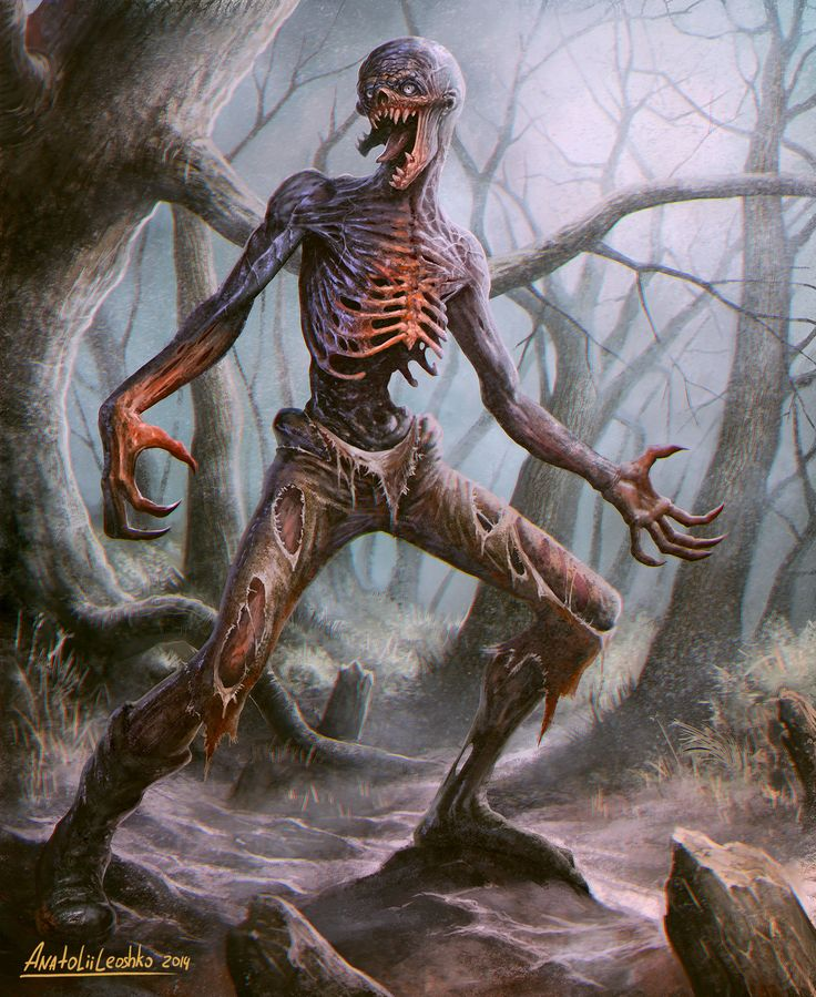 Zombie by KhezuG | NOT OUR ART - Please click artwork for source | WRITING INSPIRATION for Dungeons and Dragons DND Pathfinder PFRPG Warhammer 40k Star Wars Shadowrun Call of Cthulhu and other d20 roleplaying fantasy science fiction scifi horror location equipment monster character game design | Create your own RPG Books w/ www.rpgbard.com