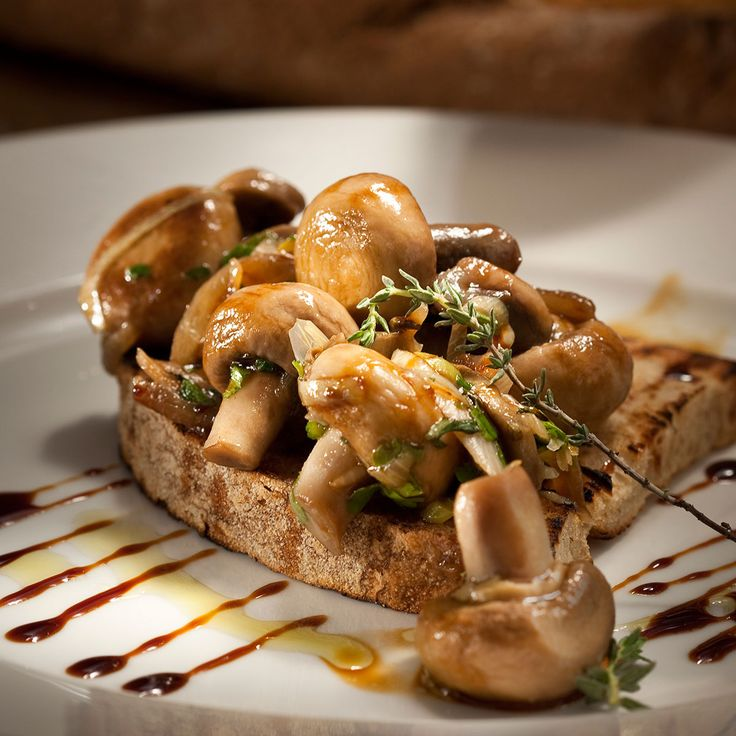 Brousketa with Mushrooms