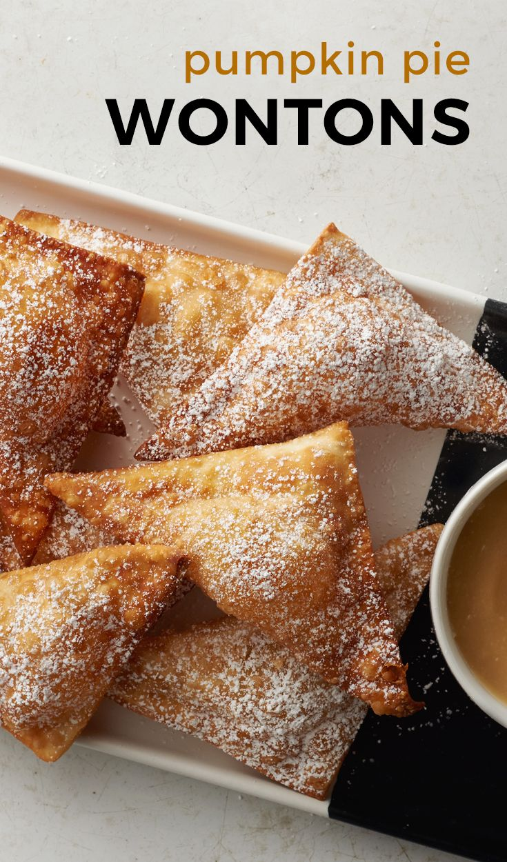 Magical pumpkin pie-flavored deep-fried goodness with a creamy maple dip on the side.