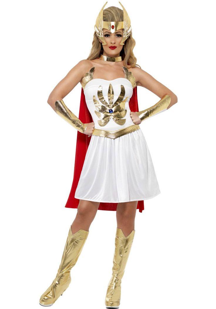 She-Ra Costume, 1980's Superhero Fancy Dress - Superhero Costumes at Escapade UK - Escapade Fancy Dress on Twitter: @Escapade_UK