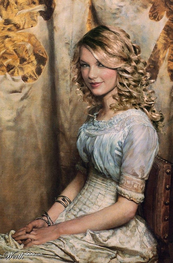 Taylor Swift Celebrities Edited Into Classic Works Of Art