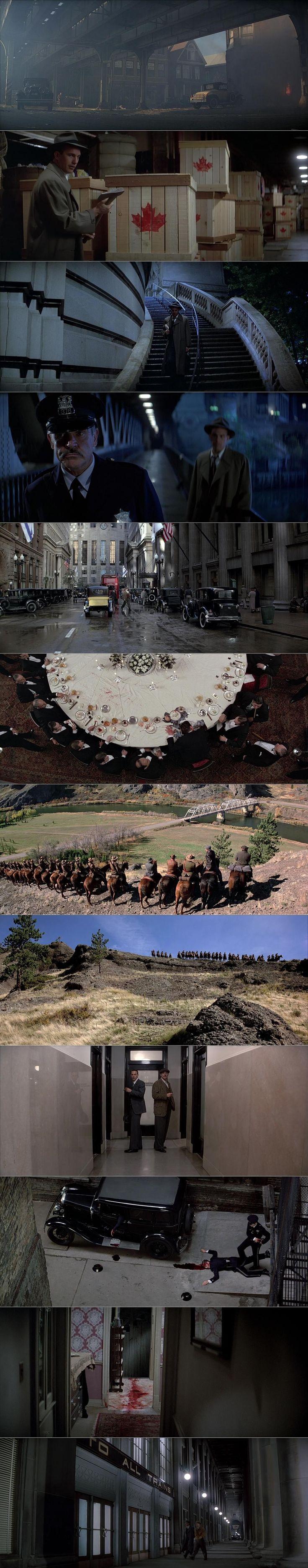 The Untouchables (1987) | Cinematography by Stephen H. Burum | Directed by Brian De Palma #DigitalFilmSchool