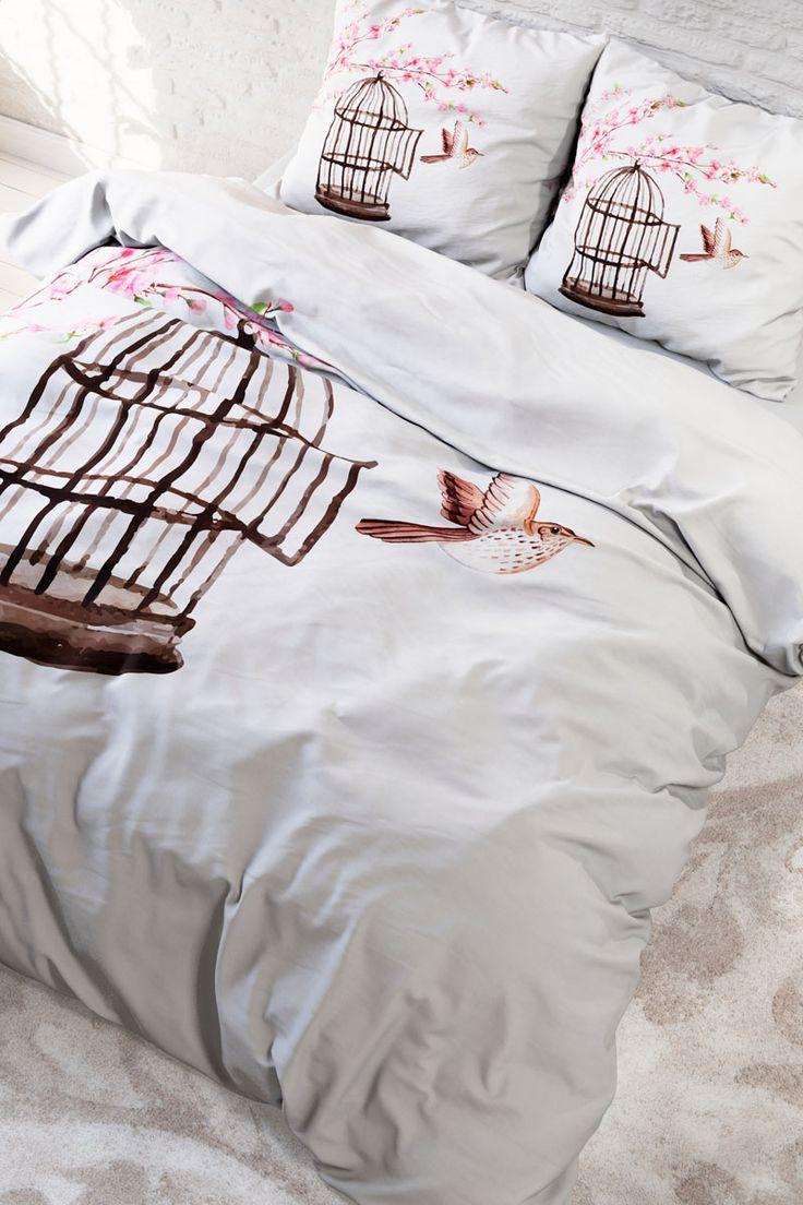Vendita Home Living / 28103 / Biancheria da letto / Parure copripiumone / Parure Copripiumone Live Free Bianco e Marrone