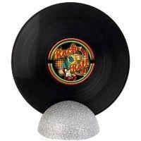 Enfeite de Mesa Disco de Vinil GRANDE - Rock n Roll