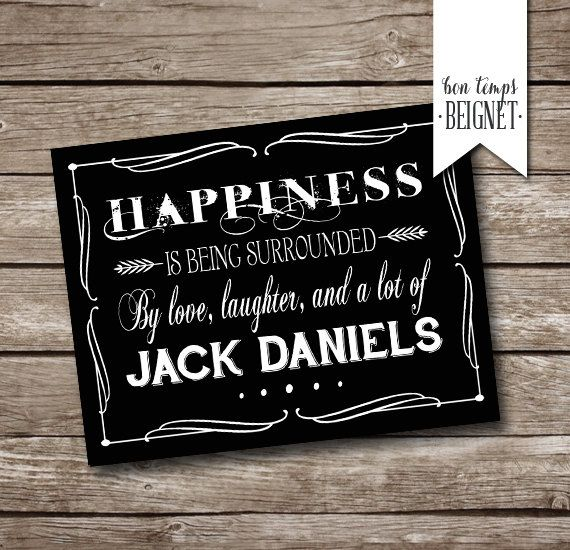 """Jack #Daniels Party #Thank You Card - Printable - INSTANT DOWNLOAD - 7 x #5"""", View more on the LINK: http://www.zeppy.io/product/gb/3/244677158/"""