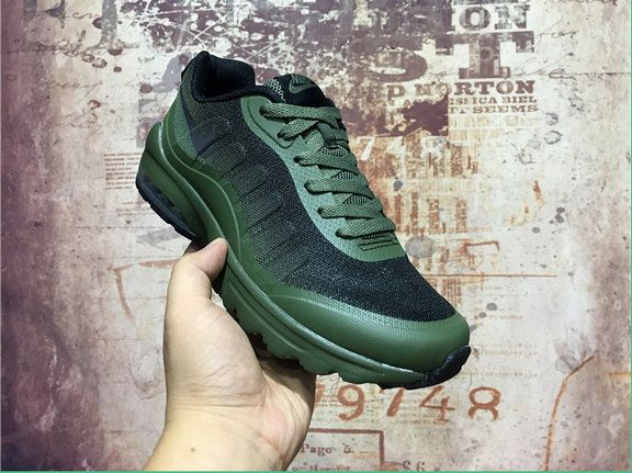 7dfc7115f2 Purchase Unisex Couple Nike Air Max 95 Ultra Olive Green Black Nike Air Max  95 Wholesale