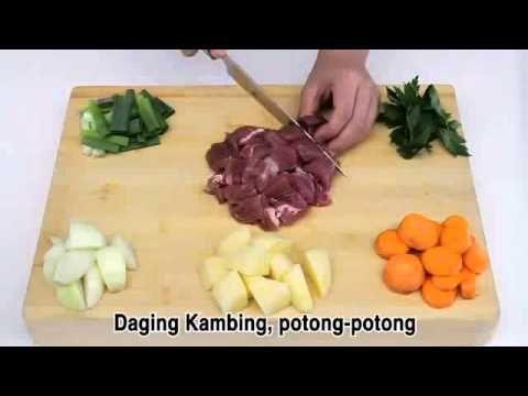 Dapur Sehat Ku 1 menit Memasak Sop Kambing - Beken.id