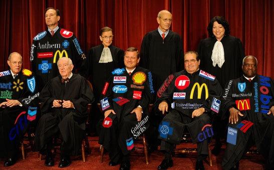 New Supreme Court Robes..wonder why america sucks
