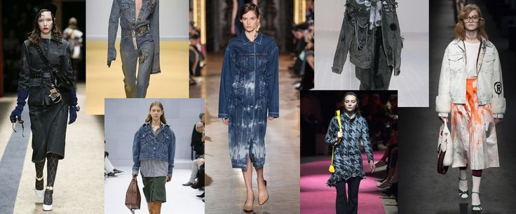 The 50 Best Denim Looks on the Fall Runways