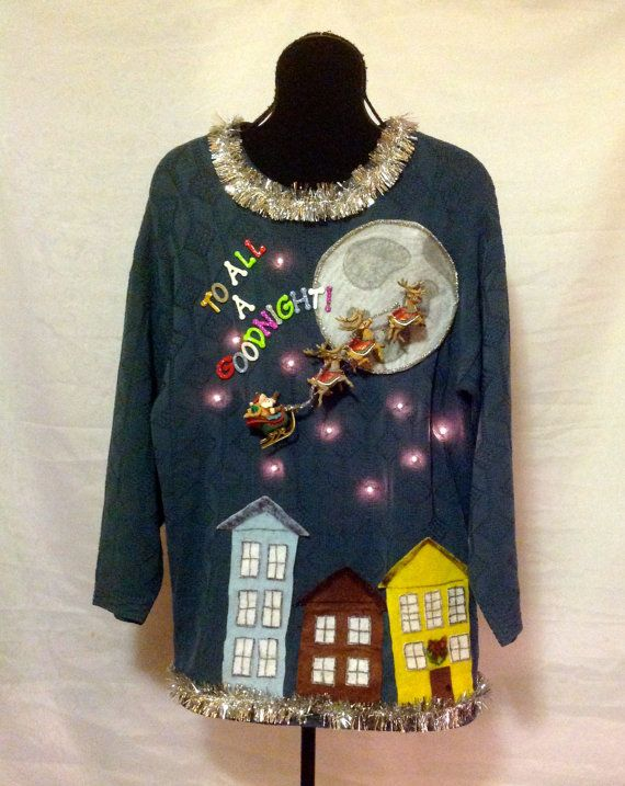 20 best Singing, Moving, Light Up Ugly Christmas Sweaters images ...