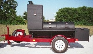 Old Country BBQ Pits - Portable trailer insulated BBQ smokers and grills