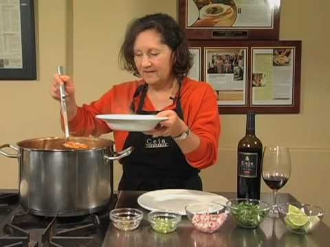 View and Print Recipe: http://www.saludnapa.com/episodes/view/1     Pozole is a hearty soup that originated in the state of Jalisco. The main ingredient is hominy - dried white or yellow corn kernels that have been boiled and soaked in slaked lime to remove the hull, and then drained, rinsed, and cooked for about 2 hours. Pozole also contains garl...