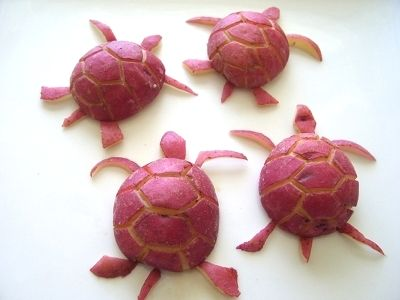 potato turtles!