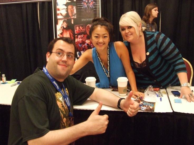 Me with Amy Okuda & Robin Thorsen