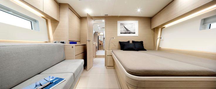 Solaris 58 - Owner cabin - Bleached Oak