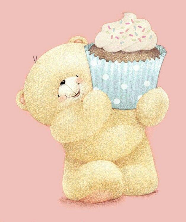 Открытки с днем рождения мишка с тортом, бро открытки