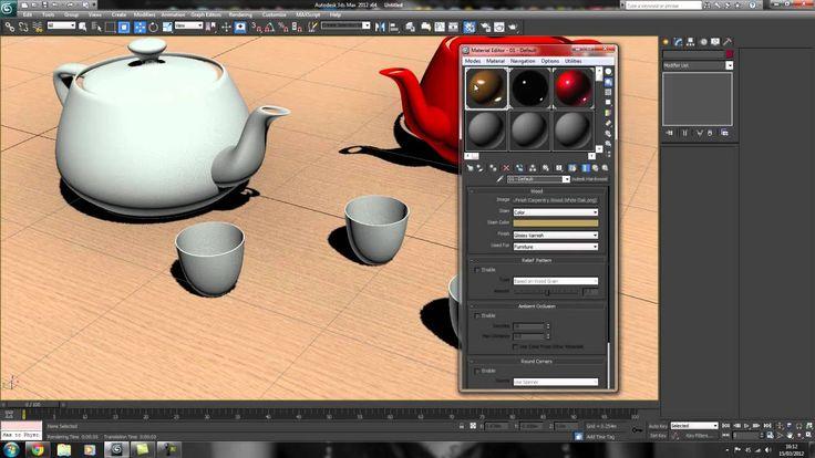 Tutoriel débutant 3Ds Max [03] Premier pas avec les rendus